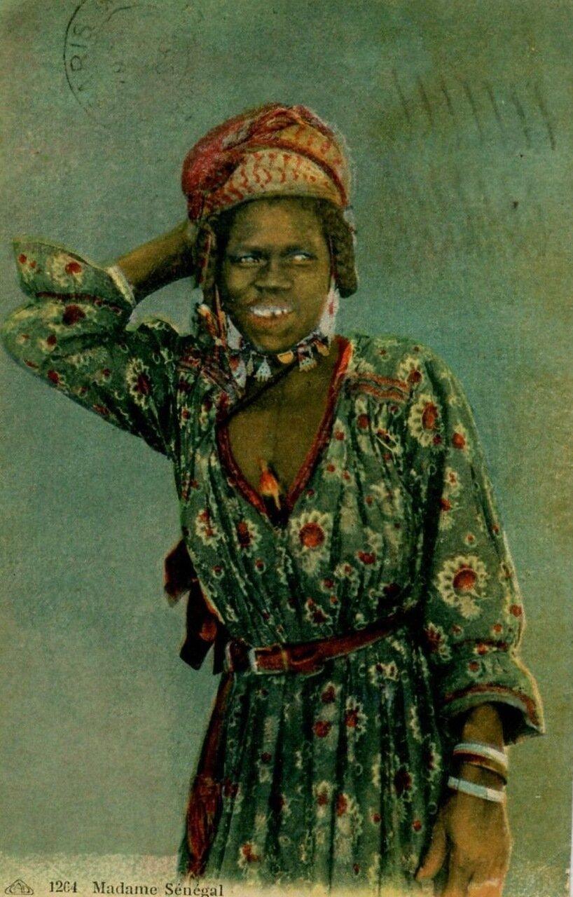 Сенегал. Портрет молодой женщины