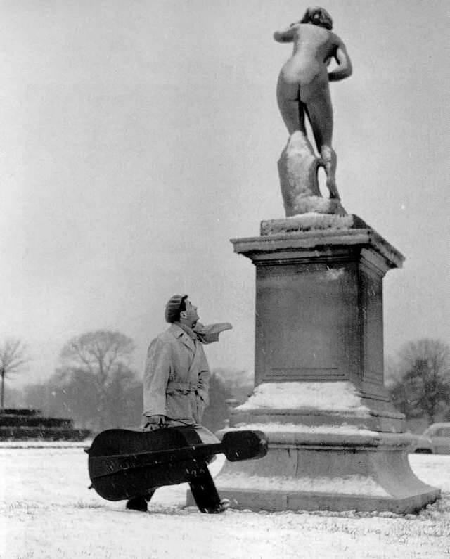 1957. Морис Буке, сад Тюильри