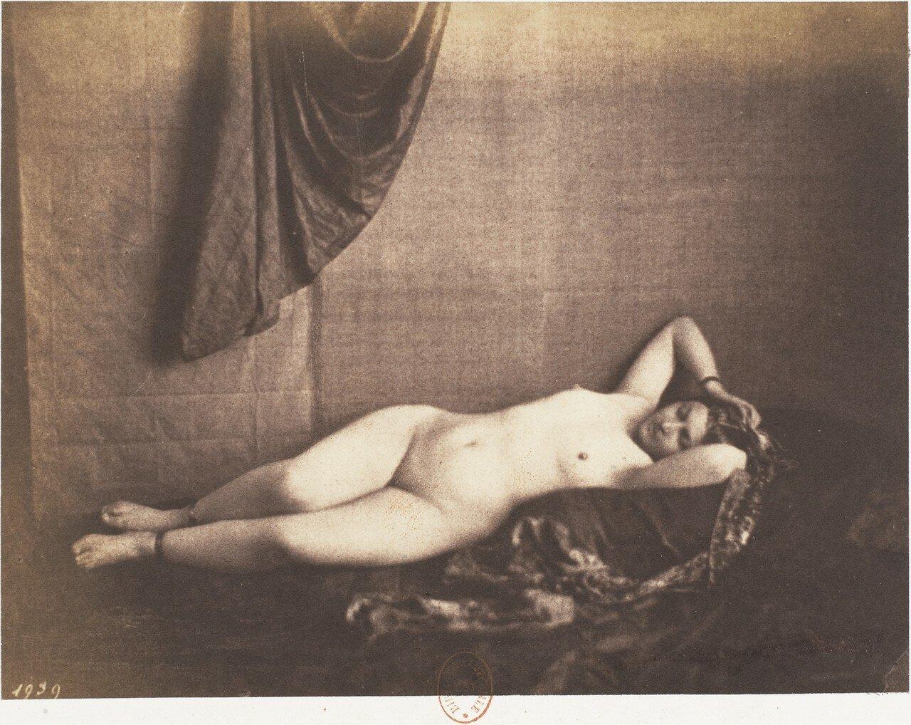 1851. Лежащая обнаженная