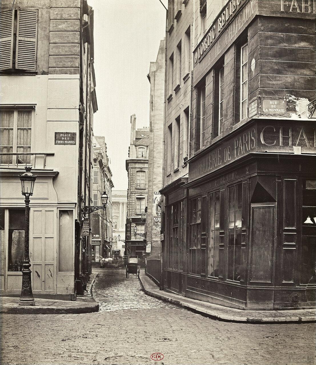 Рю дэ прэтр-сан-жерман-лёсеруа́. 1866
