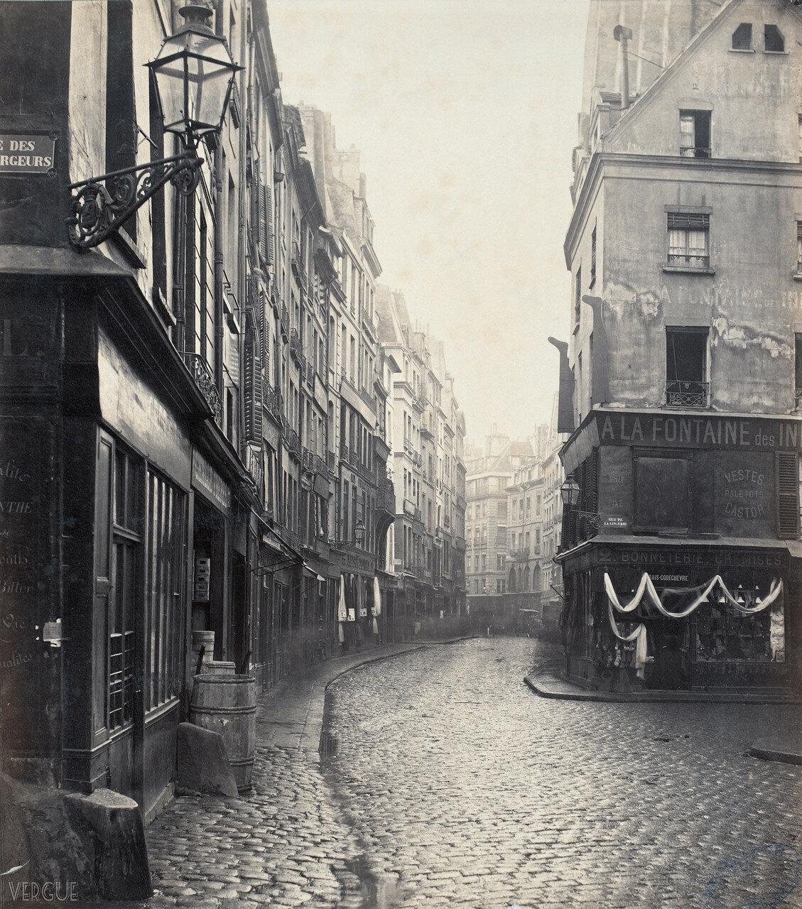 Рю Сент-Оноре. 1865