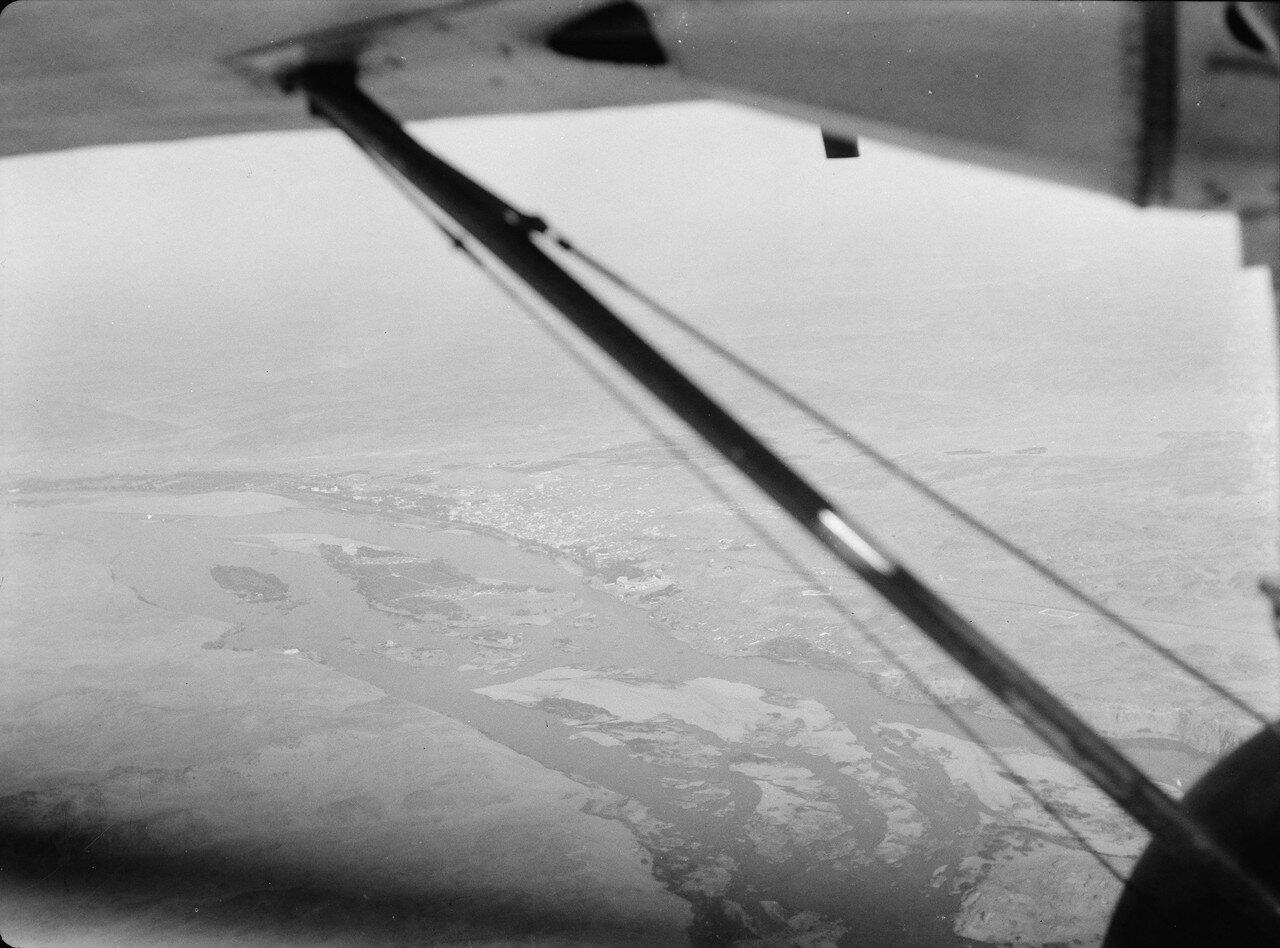 Фивы. Вид с воздуха. 1936