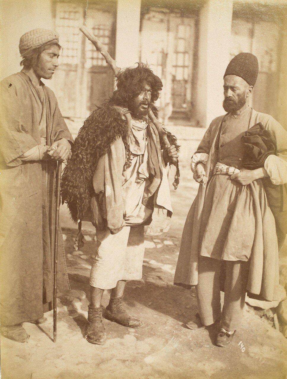 Дервиш и двое мужчин