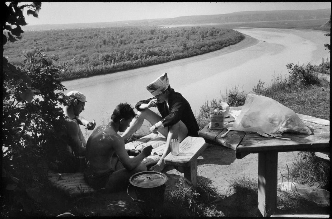 1972. Набережные Челны.  Праздник на нефтехимическом заводе