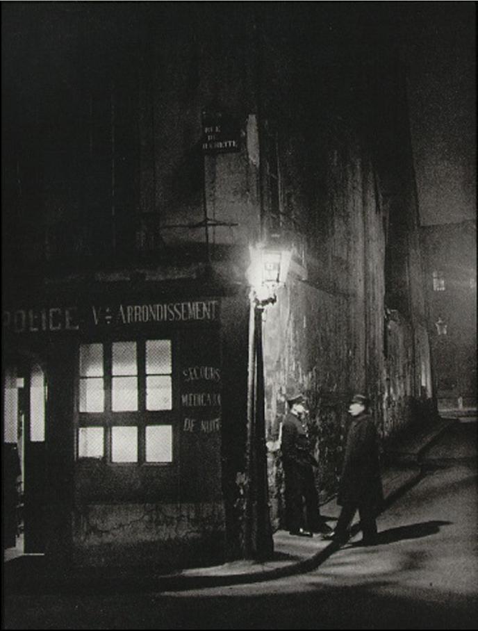 1933. Старейший полицейский участок в Париже