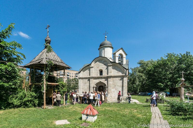 Храм святого Трифона в Москве на Рижской