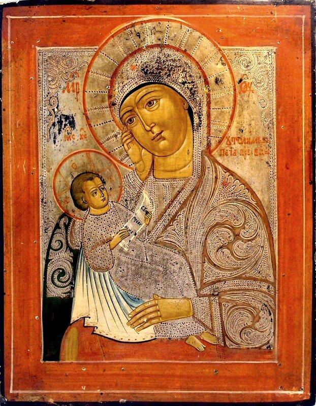 """Икона Божией Матери """"Утоли моя печали""""."""