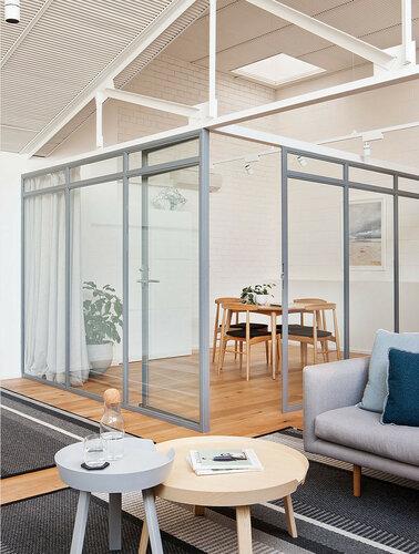 Лофт офис из бывшего склада в Мельбурне