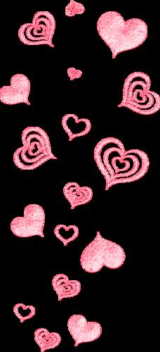россыпи сердец