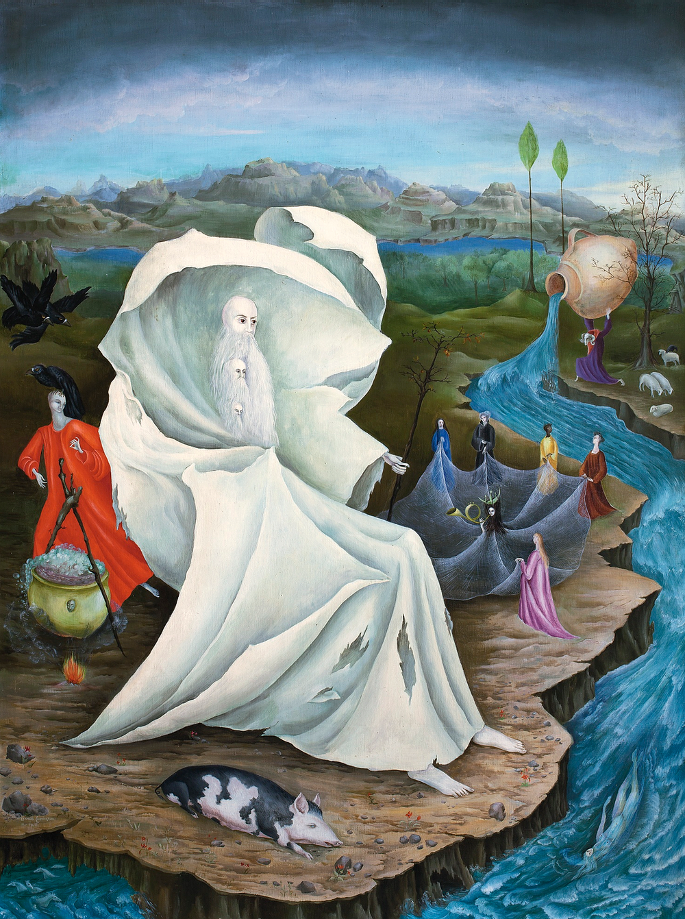 the temptation of st anthony leonora carrington  the temptation of st anthony leonora carrington