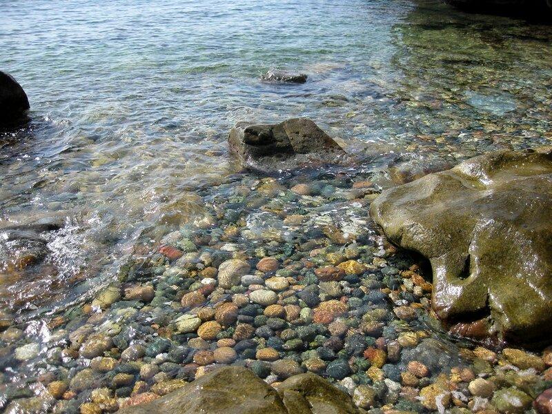 Камешки морские, да еще какие!