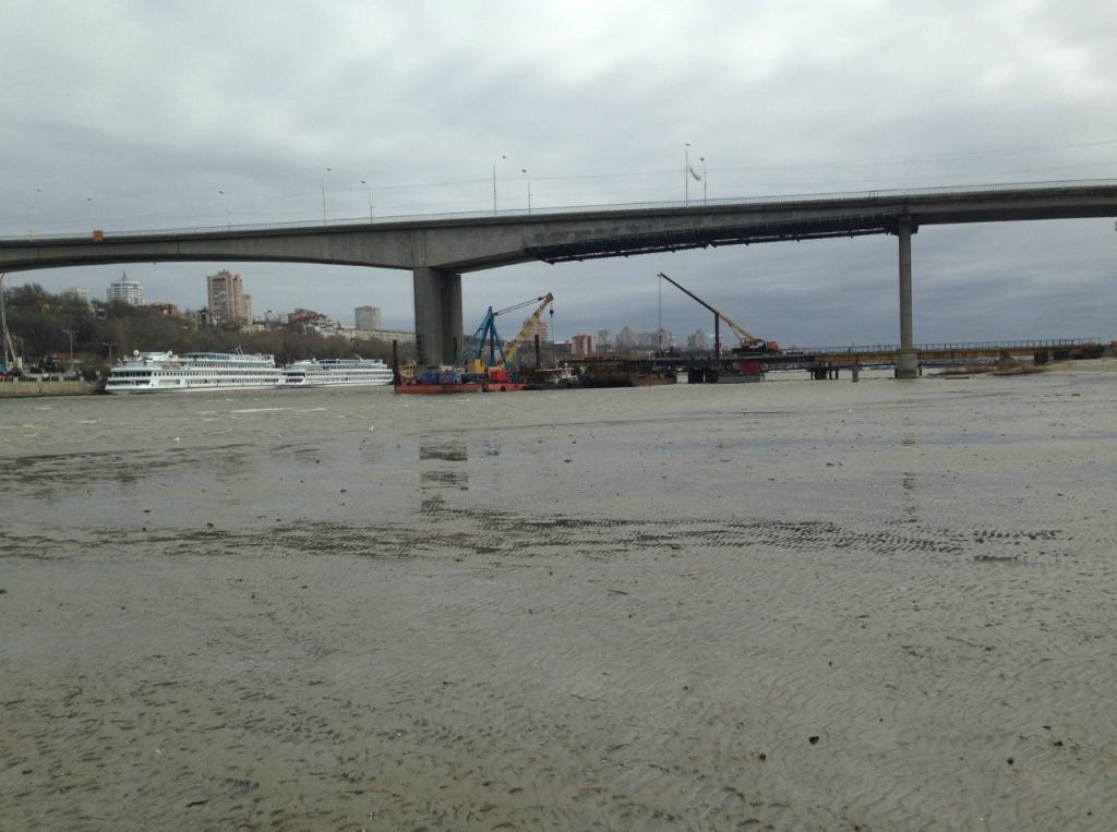 Фоторепортаж: Строительство Ворошиловского моста