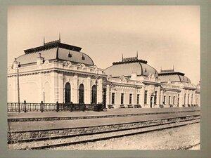 Пассажирское здание на станции Казалинск