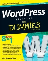 Книга WordPress All-in-One For Dummies, 2d edition