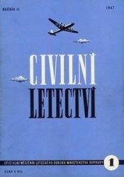 Журнал Civilni letectvi 1947-01