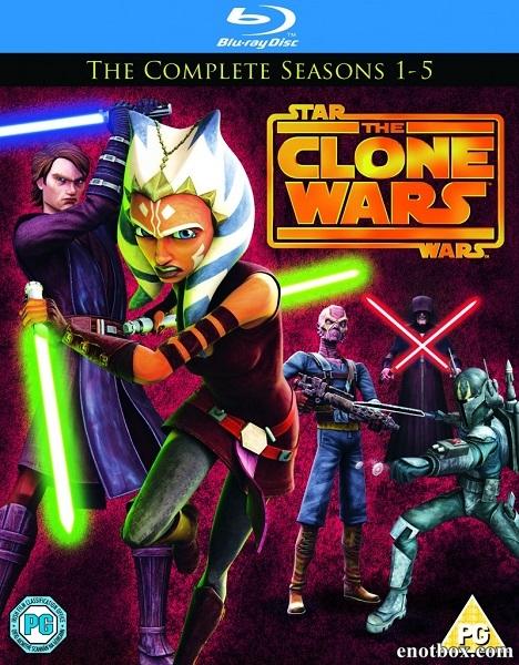 Звездные Войны: Войны клонов (Пилот, 1-6 сезон из 6: 122 серии из 122) / Star Wars: The Clone Wars / 2008-2014 / ДБ / BDRip (720p) + WEB-DL (720p)