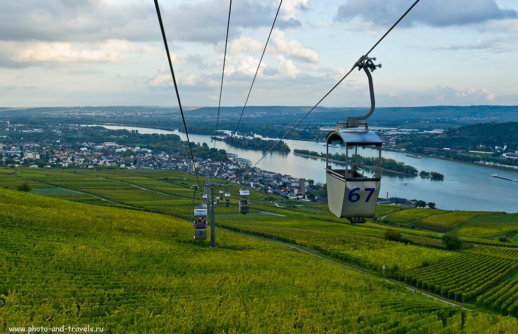21. Виды на Долину Рейна со смотровой площадки у Нидервальд