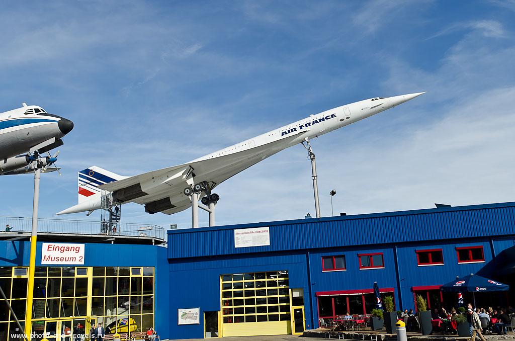 21. Французский авиалайнер Concorde F-BVFB с серийным номером 7 нашел себе приют в немецком городе Sinsheim
