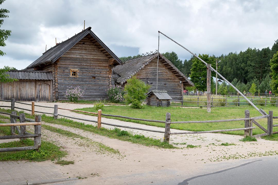 Мельница в Михайловском