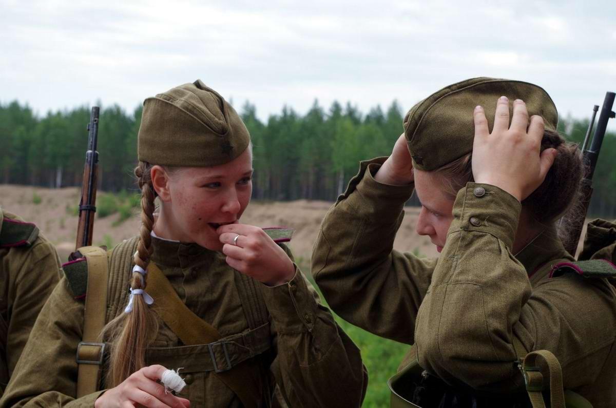 Забавные моменты из жизни военных реконструкторов (56)