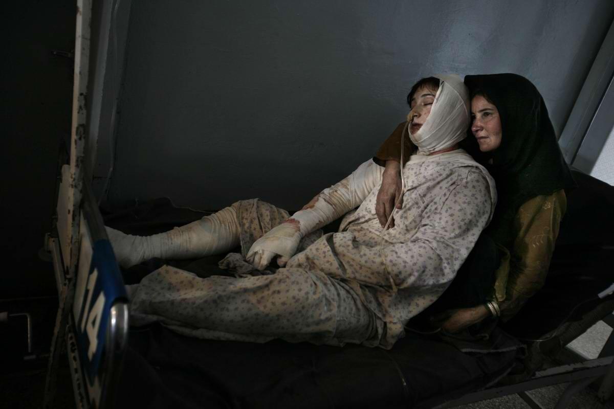 Афганские женщины из спецподразделений МВД Афганистана: картинки из жизни (27)