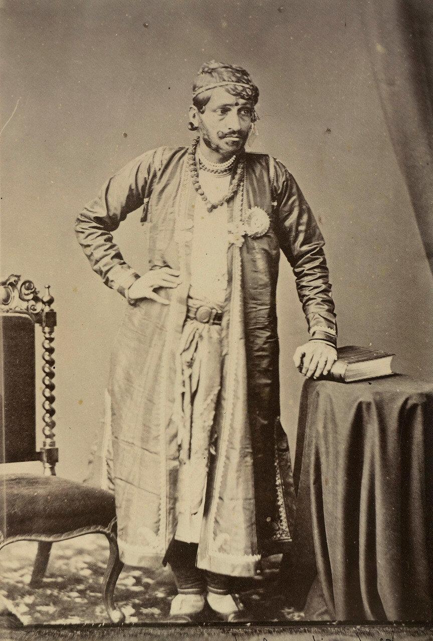 86. Рам Сингх II, Махараджа Джайпура (1835-80)