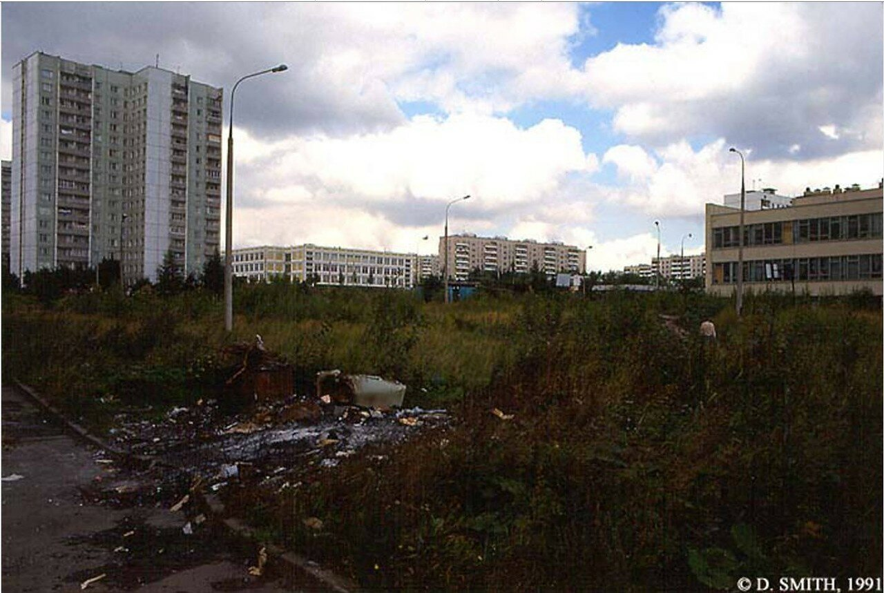 Жилой дом в пригороде Москвы