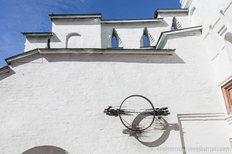 Захаб - надвратное укрепление Святых ворот Спасо-Преображенского монастыря