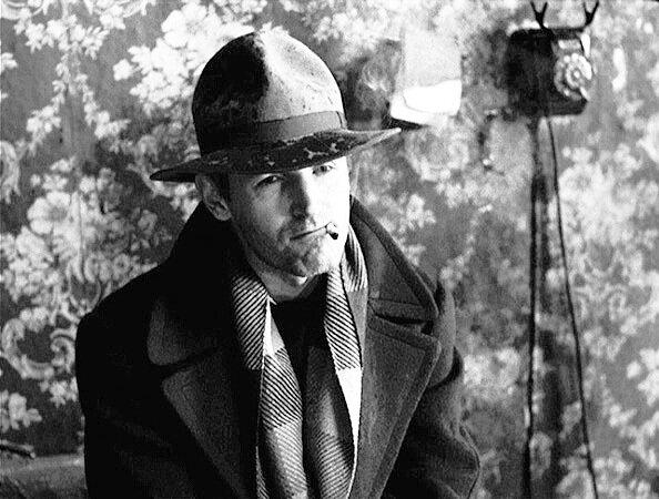 Станислав Любшин на съёмках фильма Никиты Михалкова «Пять вечеров». 1978 год. РИА Новости.jpg