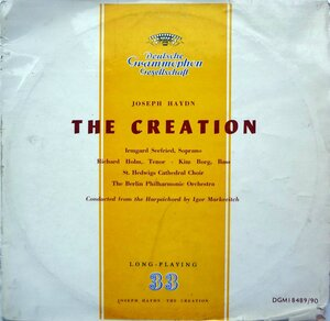 Joseph Haydn. The Creation (1957) [Deutsche Grammophon, DGM 18489-90]