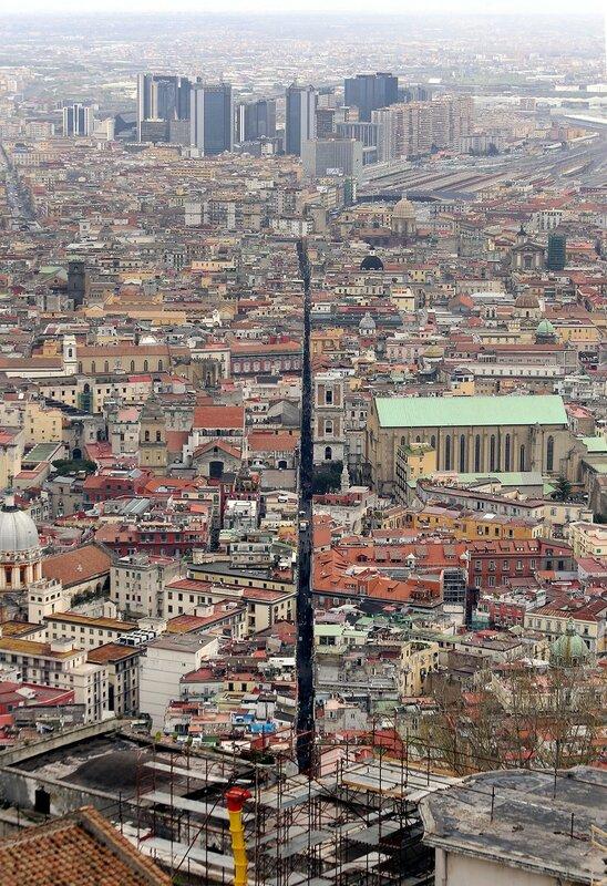 Неаполь. Вид из замка Святого Эльма