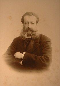 Волконский Михаил Сергеевич (1832-1909) - князь, статс-секретарь, сенатор, член Государственного совета, сын декабриста