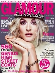 Журнал Glamour UK - October 2014