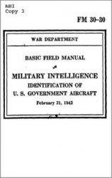 Книга Military Intelligence - Identification of U.S. Government Aircraft