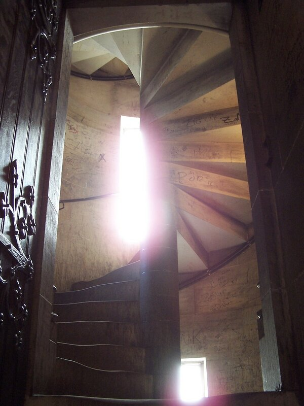 Wendeltreppe im Glockenturm