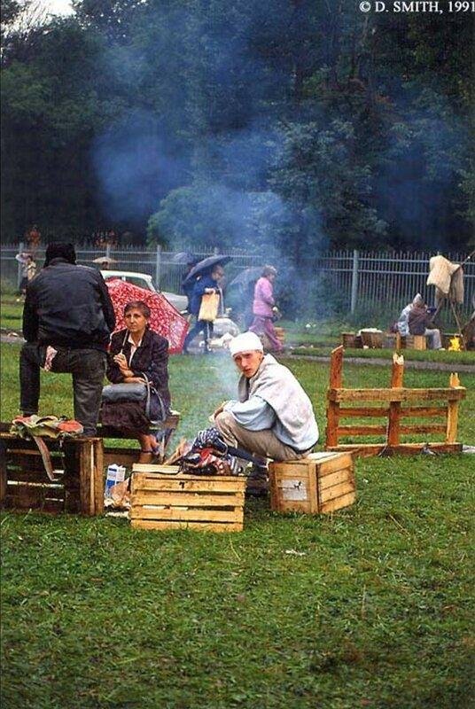 Пикник во время путча