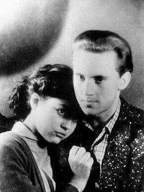 Аза Лихитченко и Владимир Высоцкий