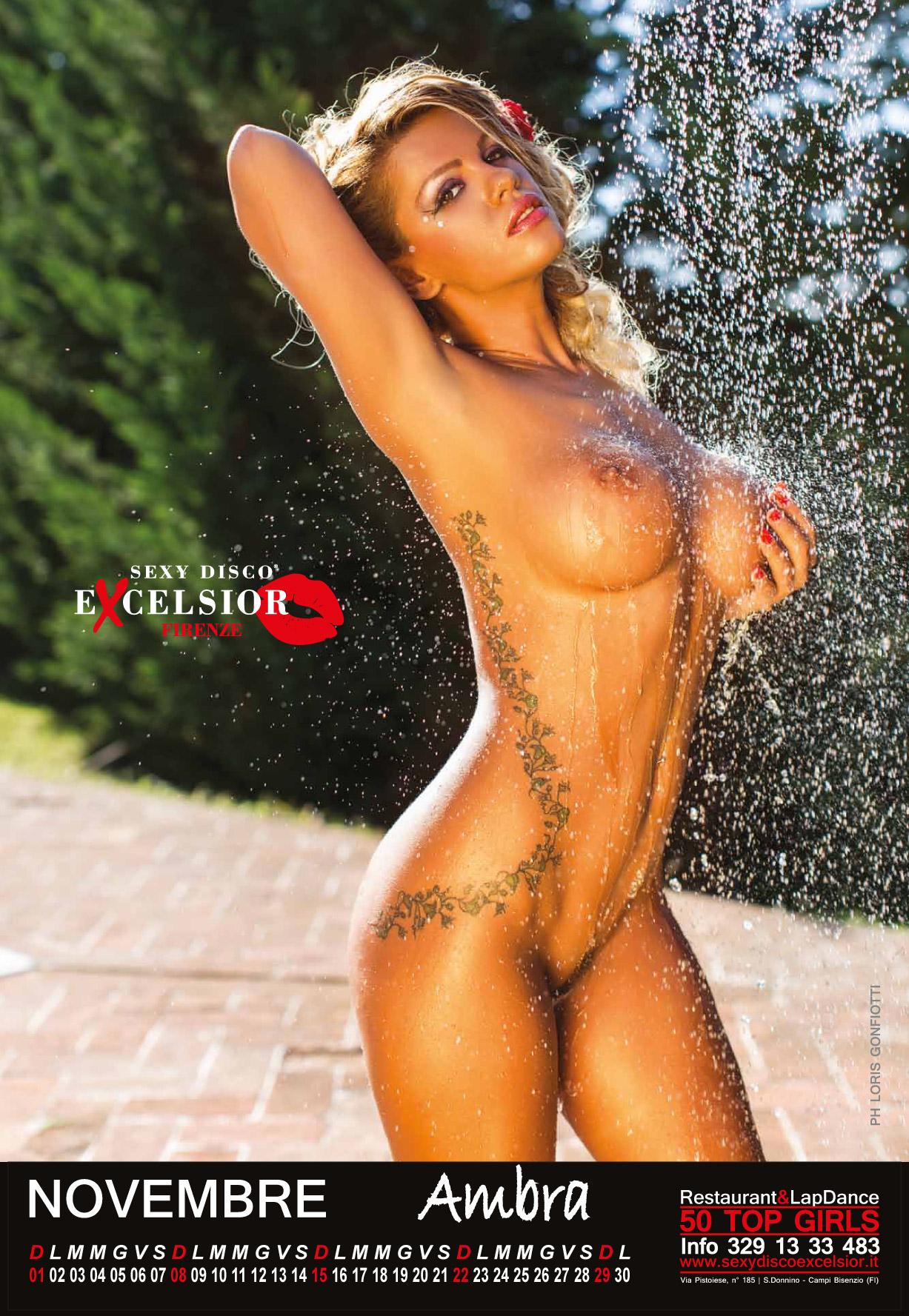 Эротический календарь ресторана Sexy Disco Excelsior calendar 2015