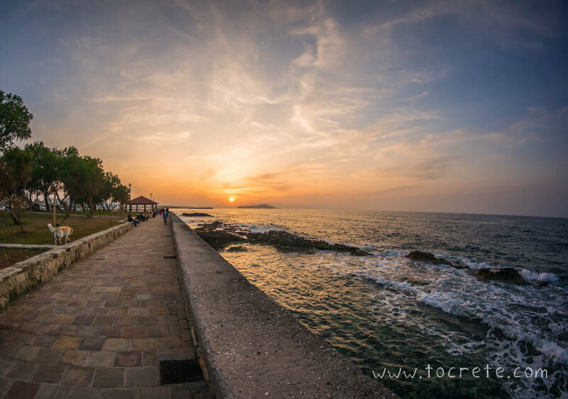 Закат в Ханье | Sunset in Chania