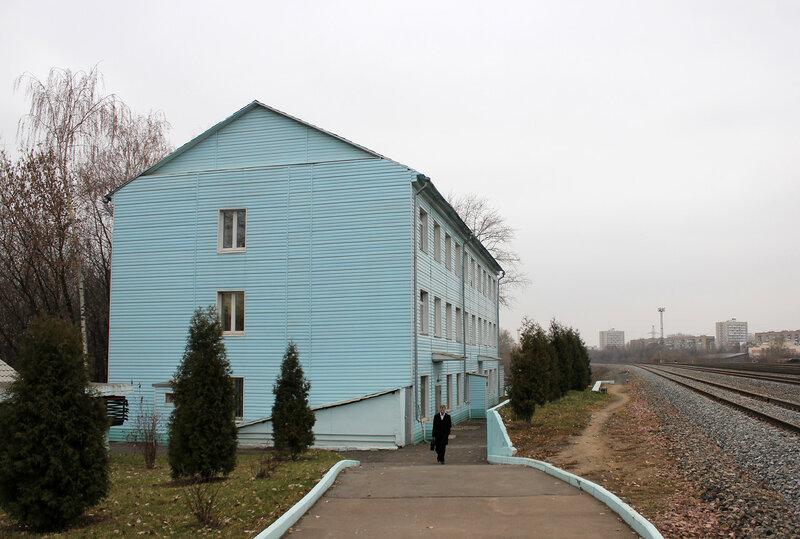 Здание ДСП на станции Ростокино