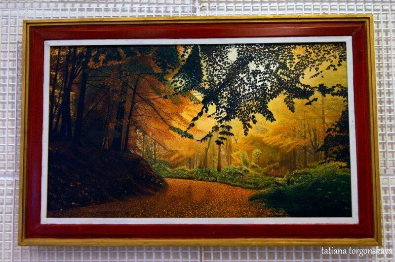 Картина с выставки Войислава Джоковича