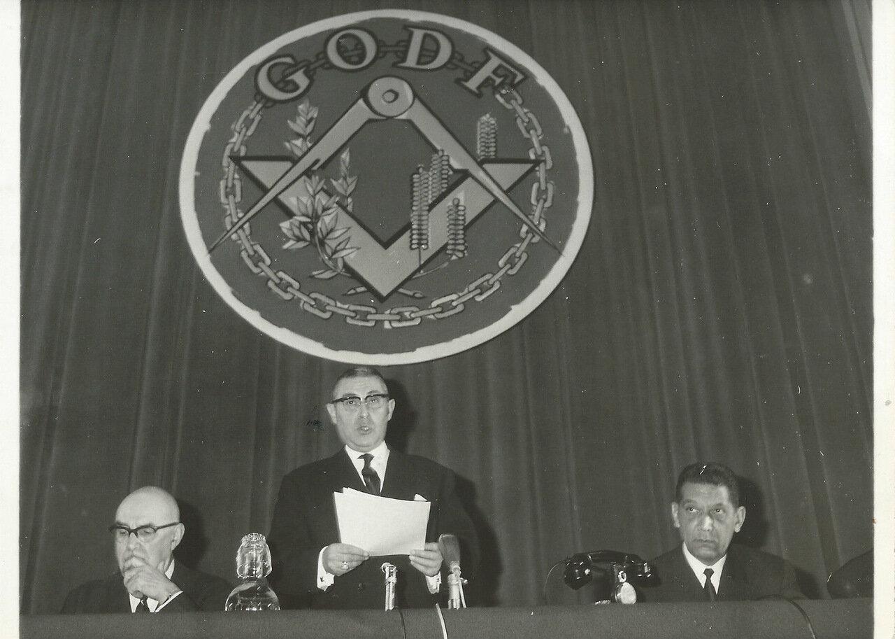 Жак Миттеран, Великий Мастер ложи Великого Востока. 1969—1971