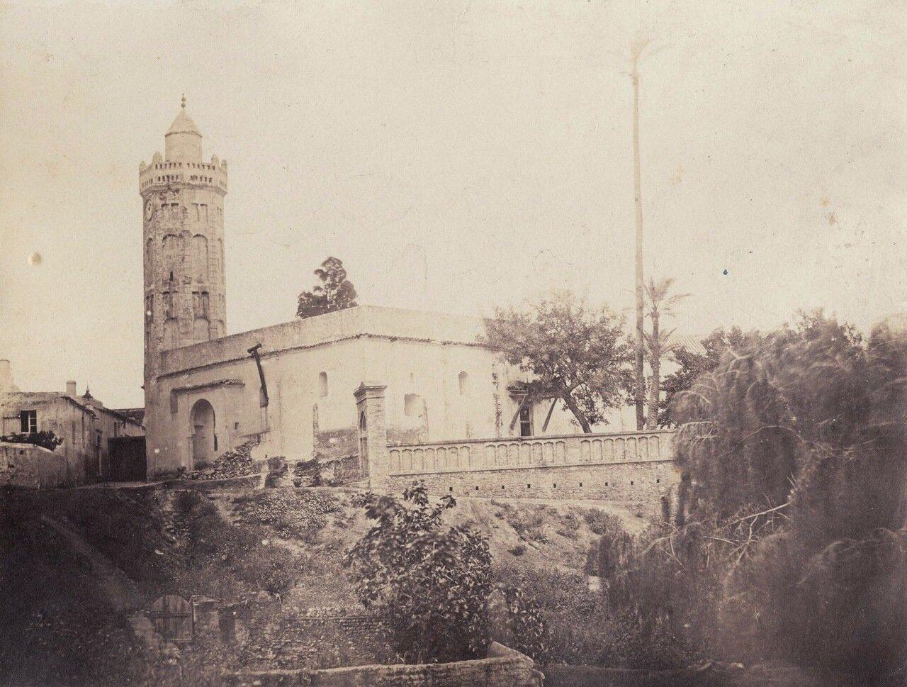 1856-1857. Мечеть (фотограф Феликс-Жак-Антуан Мулен)