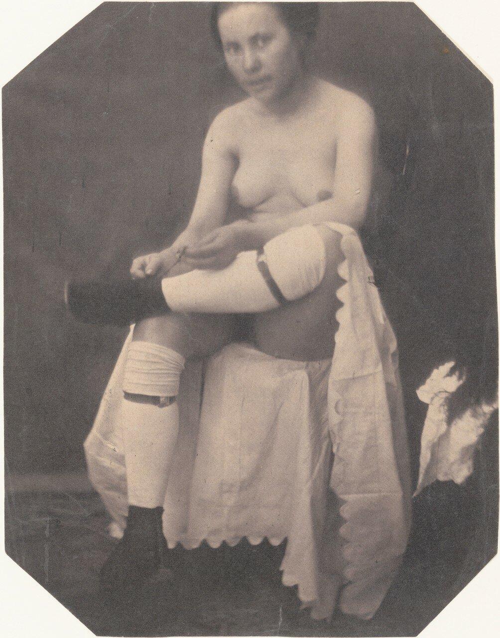 1855. Обнаженная