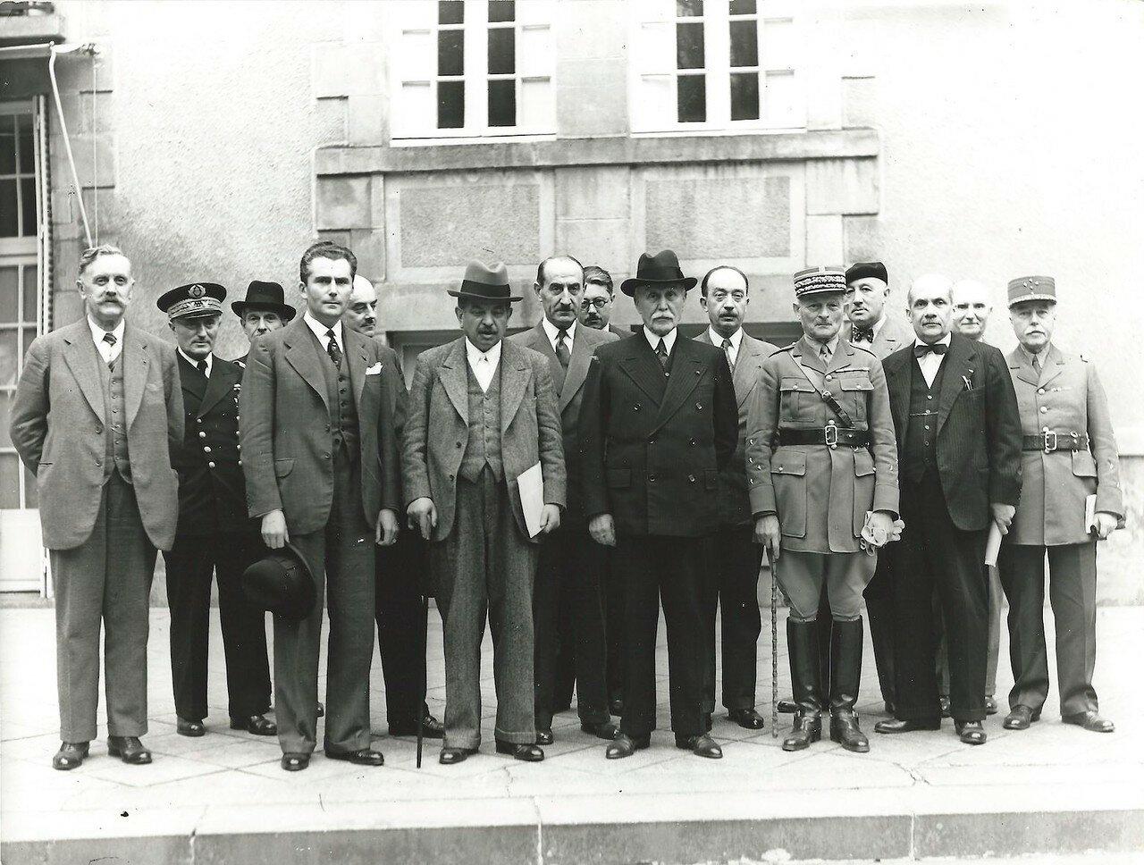 11 июня 1940. Правительство Виши. Франсуа Дарлан, Пьер Лаваль, Эмиль Мирье, Максим Вейган