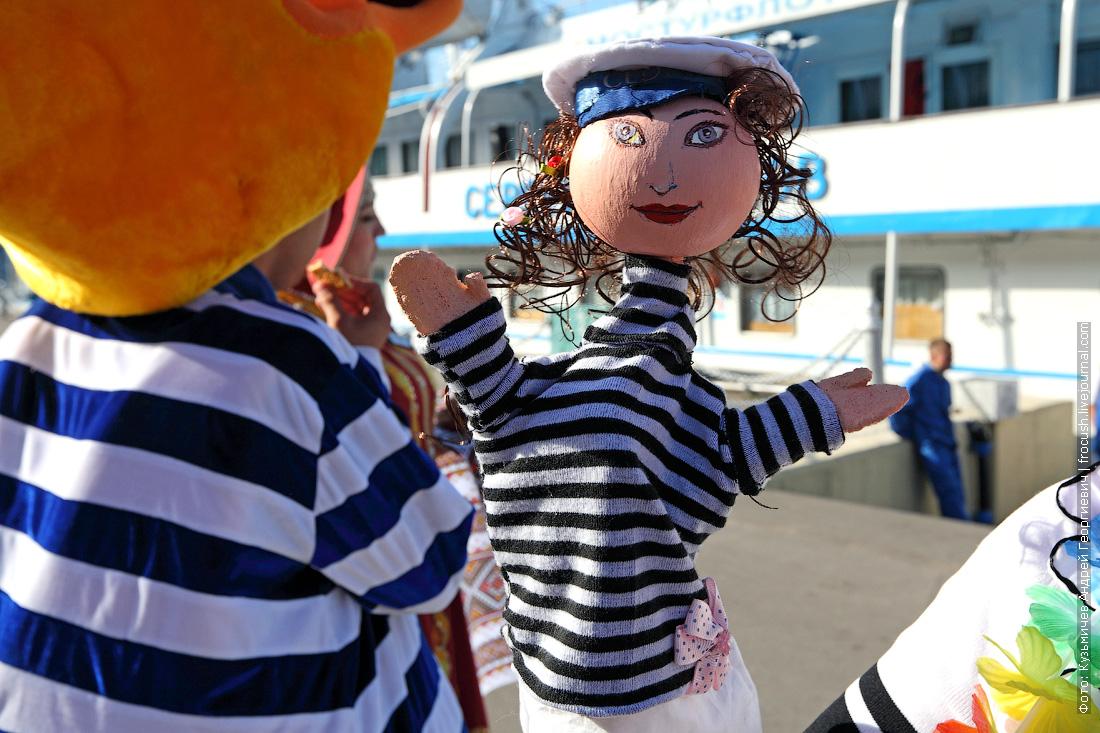 кукла Морячка в руках Ольги Ластовецкой