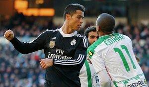 Криштиану Роналду могут наказать за драку на футбольном поле