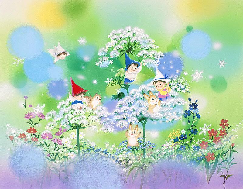 Японские иллюстрации Igawa Hiroko