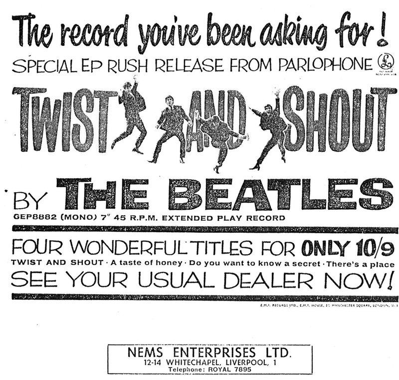 13 The Beatles - NME Advertisement July 12th 1963.jpg