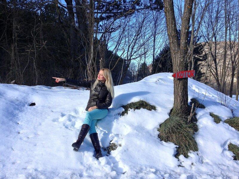 Негуши зимой